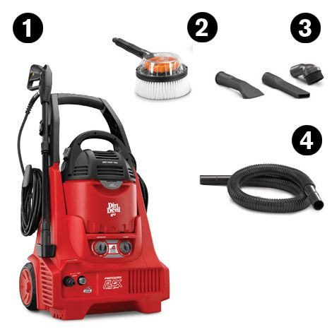 Factory high pressure cleaner and wet & dry vacuum cleaner