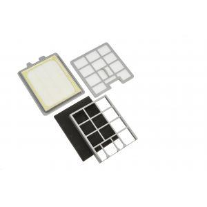Filterset 2710001 (Motorschutzfilter, Ausblasfilter) für den Dirt Devil Centrino M3