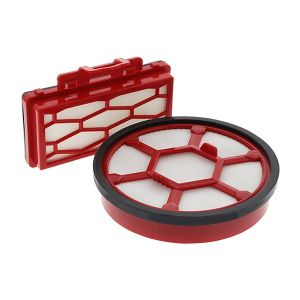 Filter kit (dual motor protection filter, exhaust filter) for the Dirt Devil Rebel 24 HFC / HF / HE, Black Label CP24