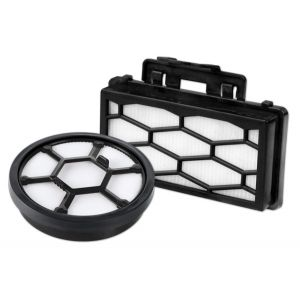 Filter set 2820001 (motor protection filter, prefilter) for Dirt Devil Func-1 / -2 / -3 / -4, Popster