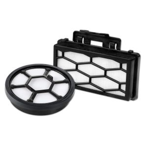 Filterset 2324001 (Dual-Motorschutzfilter + Ausblasfilter (Hepa)) für den Dirt Devil POPSTER, FUNC / 1.1 / 2.1 / 3.1 / 4.1