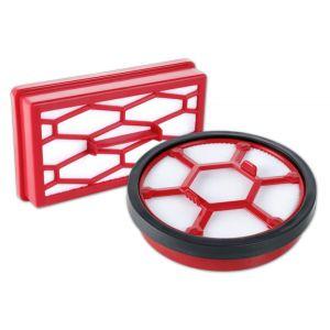 Filter kit (dual motor protection filter, exhaust filter) 2220001 Dirt Devil Rebel 20, 22 HE/ HF