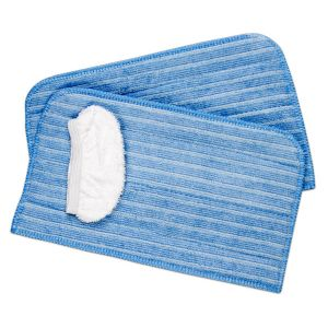 Cleaning cloth set 0319022 (2x micro fibre, 1x cotton) for AQUAclean Universal steam cleaner