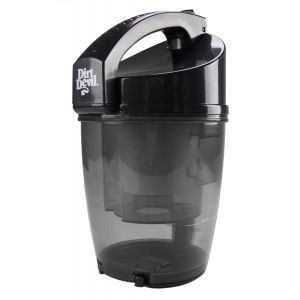 Dust container 2881007 - black for Dirt Devil Centrino Cleancontrol