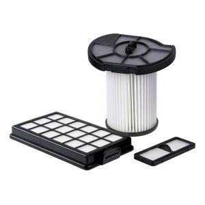 Filterset 1882023 (Lamellen-Zentralfilter, Vorfilter, Motorschutzfilter, Ausblasfilter) für den Dirt Devil Centrixx / Classic, CPR, XL