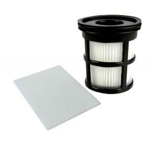 Filterset 2880001 (Lamellen-Zentralfilter, Ausblasfilter) für den Dirt Devil Centrino SX