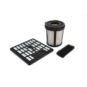 Filterset 2720001 (Lamellen-Zentralfilter, Filtersieb, Ausblasfilter, Motorschutzfilter) für den Dirt Devil Centrino XL / XXL