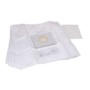 Dust bag kit (5x dust bag, 1x motor protection filter) for DD7070, DD7014, DD7114, DD7274, DD7275, DD7374, DD7375, DD7700, DD7710, DD7770, Quigg 5390, Allegra - M7000, Swiffy - M7015, Mustang - M7017, Cargo - M7066, EQU - M7100, EQU 2 - M7101, M7102