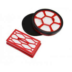Filter kit 2200001 (dual motor protection filter, exhaust filter) for the Dirt Devil Rebel 20 / 22