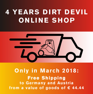 Dirt Devil® Online Shop for Germany and Austria